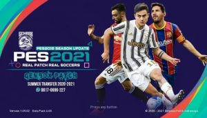 PES update 2021 patch gembox